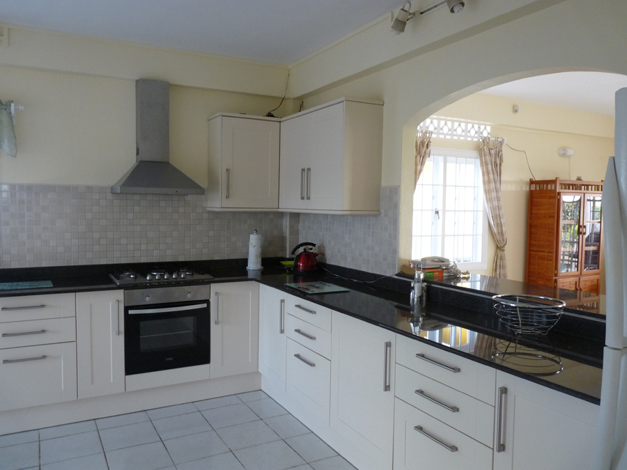 kitchen tobago villa